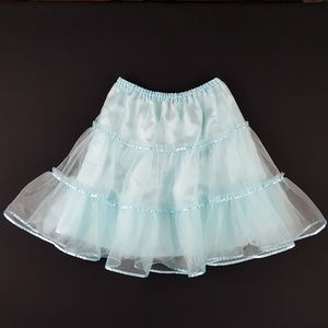 Hanna Andersson Layered Tulle Skirt Sz 150